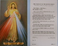 Chaplet of the Divine Mercy Paper Holy Card