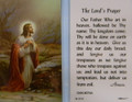 The Lord's Prayer Laminated Holy Card