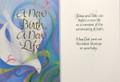 A New Birth Baptism Card