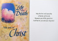 In Life As In Death...Sympathy Card