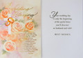 A Wedding Blessing Wedding Card