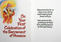 On Your First Celebration..Reconciliation Card