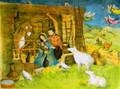 Jesus the Savior Is Born Advent Calendar