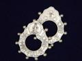 Hail Mary Metal Rosary Ring