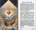 Prayer to the Holy Spirit Laminated Holy Card