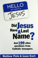 Did Jesus Have A Last Name