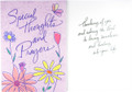 Special Thoughts and Prayers Get Well Card