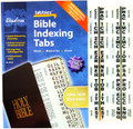 Large Print Gold-Edged Bible Indexing Tabs