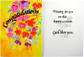 Congratulations Praying For You Greeting Card