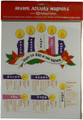 Advent Activity Magnet Set