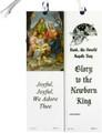 Glory to the Newborn King Laminated Bookmark