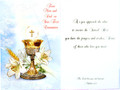 From Mom and Dad First Communion Greeting Card