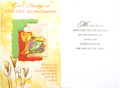 God's Blessings On Your First Reconciliation Greeting Card