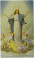 Assumption of Mary Blank Back Paper Holy Card