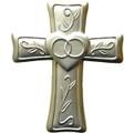 Wedding Cross with Card