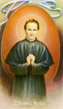 St John Bosco Plain Back Paper Holy Card