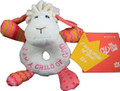 Lucy White Plush Rattle
