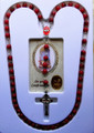 Confirmation Rosary with Confirmation Prayer Holy Card