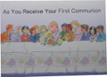 As You Receive Your First Communion Greeting Card