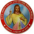 Divine Mercy Auto Magnet