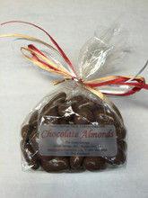 1/2 Lb - Milk Chocolate Dipped Almonds