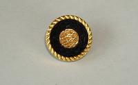 Black/Gold Wicker