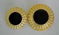 Black/Gold Pebbled