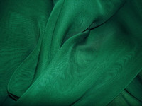 Polyester Chiffon-Hunter Green