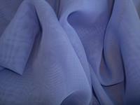 Polyester Chiffon Periwinkle