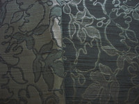 Black Metallic Jacquard Brocade