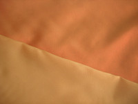 Tangerine Iridescent Satin