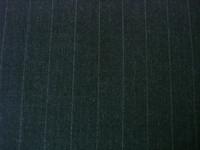 Dark Grey/Metallic Silver Pinstripe