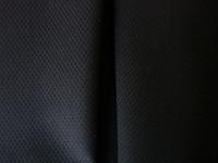 Black Stretch Pique