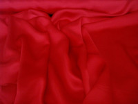 Silk Charmeuse-Red