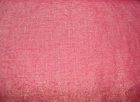 Fuschia/Gold Metallic Linen Blend
