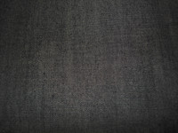 Linen Blend Denim-Black