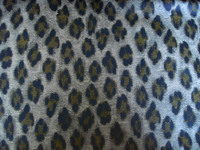 Navy/Grey Leopard Brocade
