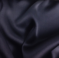 Silk Charmeuse-Navy Blue