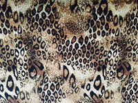 Brown/Black/Ivory Animal Print Knit