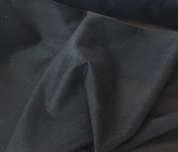 Black Chevron Knit Fusible Knit