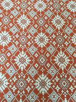 Moroccan Print Rayon Challis-Cinnamon