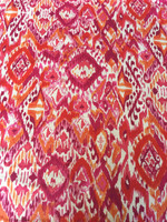 Painterly Ikat Cotton Print