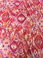 Painterly Ikat Cotton Print