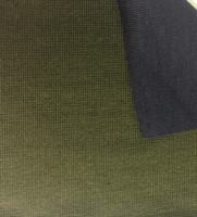 Olive/Navy Reversible Knit