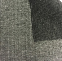 Steel Grey/Charcoal Grey Reversible Knit