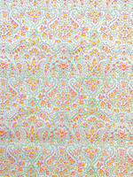 Citrus Cotton Stretch Sateen