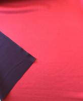 Red/Eggplant Reversible Scuba Knit
