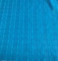 Cyan Leno Weave Cotton