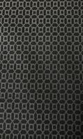 Black/Grey Geometric Stretch Cotton
