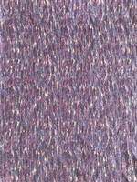 Amethyst/Lavender Cotton Tweed